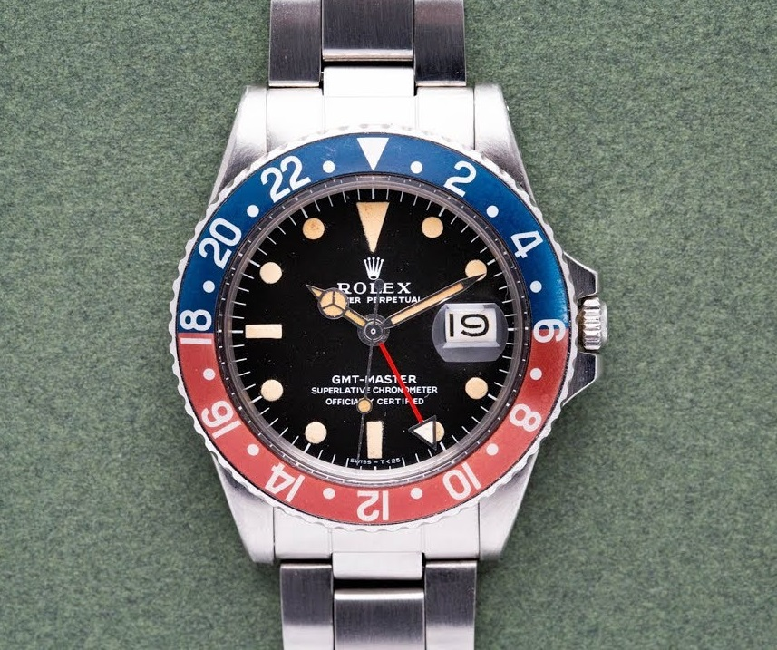 Beautiful Rolex GMT-Master 1675 watches Replica