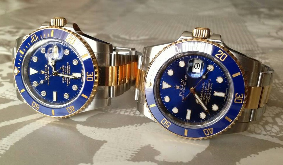 What Is The Difference Between Replica Rolex Submariner 16613 And 116613