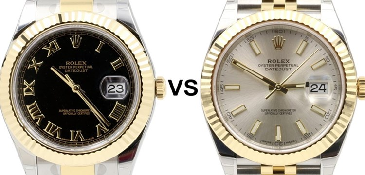 Replica Rolex Datejust VS Datejust II: What's the difference?