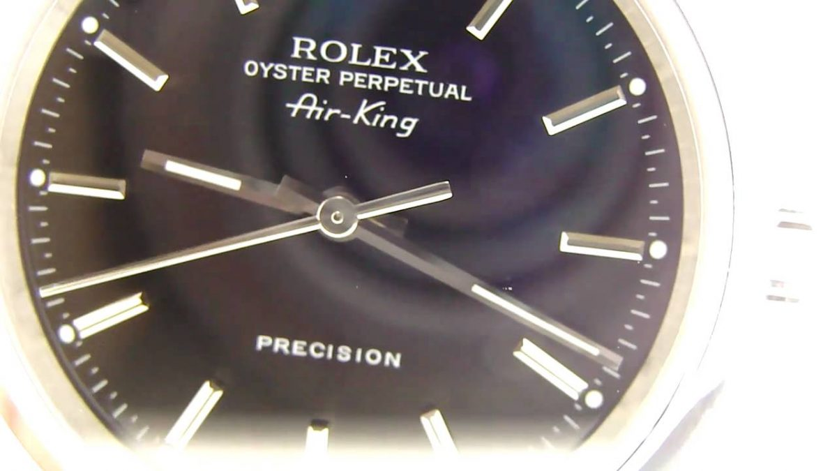 Steel Replica Rolex Air-King 14010