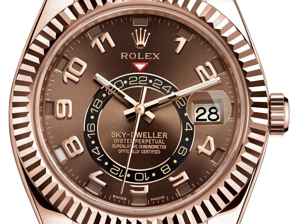 Rolex Sky-Dweller Watch: 18 ct Everose gold - 326135