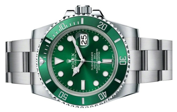 fake Rolex Hulk Submariner 116610 LV