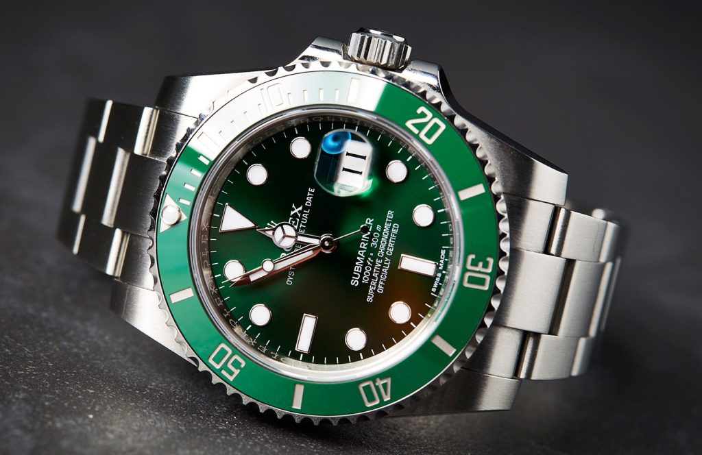 fake Rolex Submariner 116610 LV