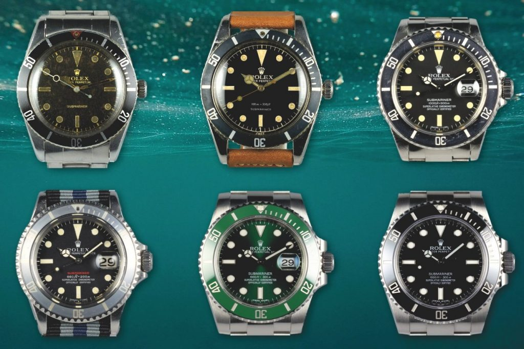 fake Rolex Submariner collection