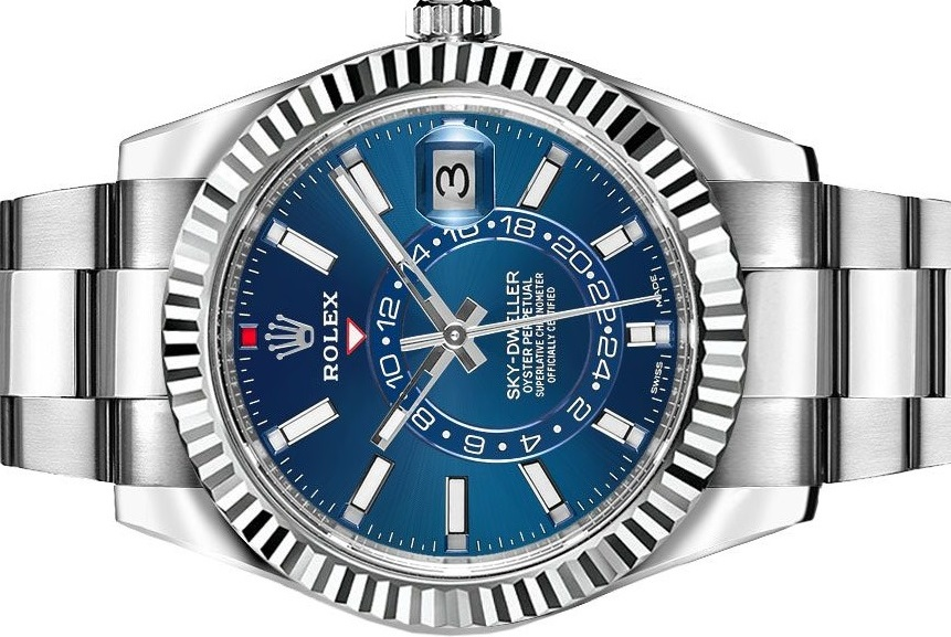 Is The Fake Rolex Sky-Dweller A GMT Watch?