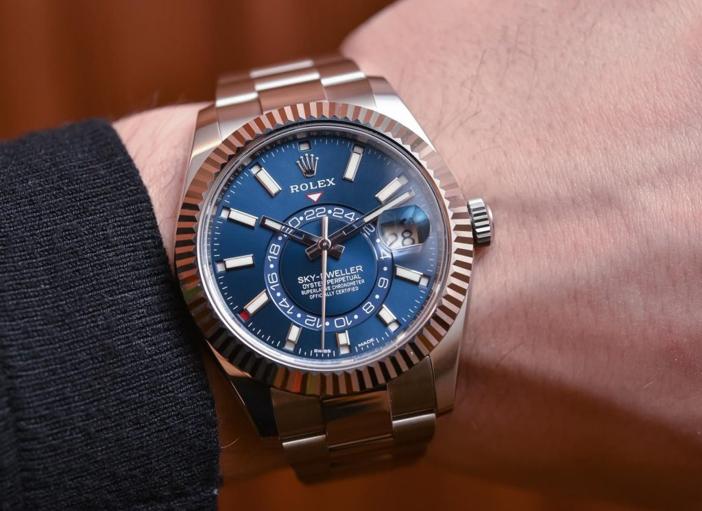 fake Rolex Sky-Dweller steel 326934
