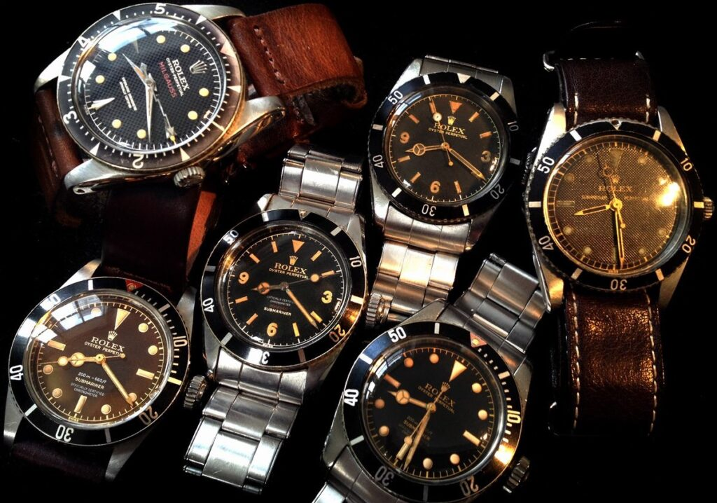 Fake Rolex Submariner James Bond
