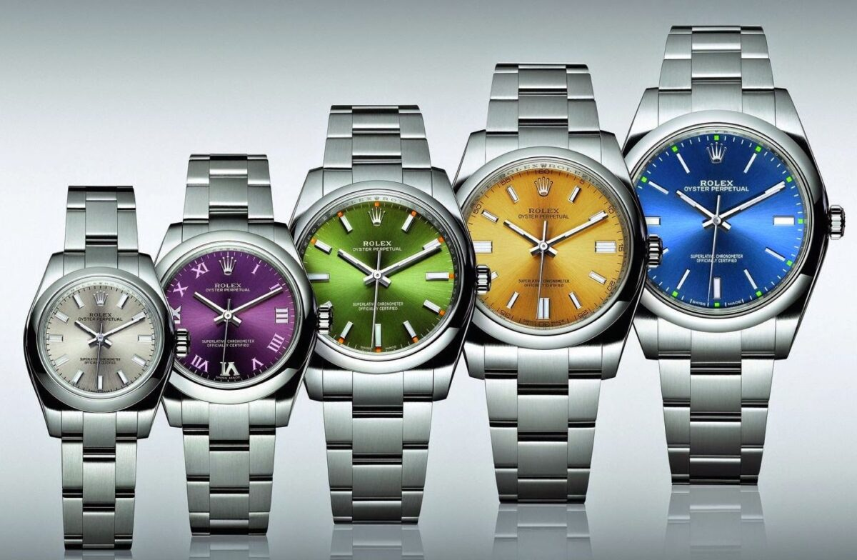 replica Rolex oyster collection
